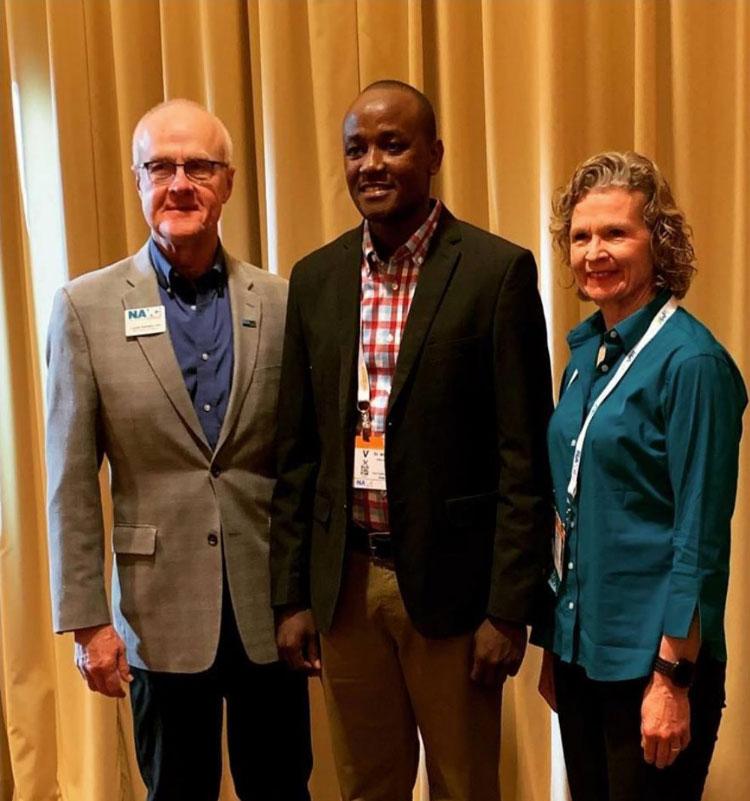 A Photo taken with My host Dr. Jackie Hagenaar and Dr. Laurel Kaddatz